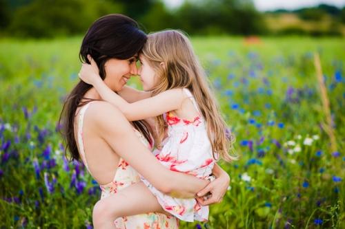 Kolory lata - Karina i Natasza, sesja rodzinna